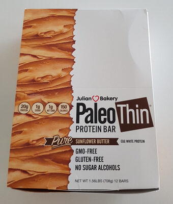 PaleoThin Protein Bar Pure Sunflower Butter - Produit - en