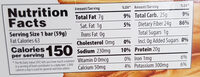 PaleoThin Protein Bar Pure Sunflower Butter - Informations nutritionnelles - en
