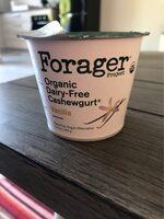Vanilla organic dairy-free cashewgurt, vanilla - Product - en