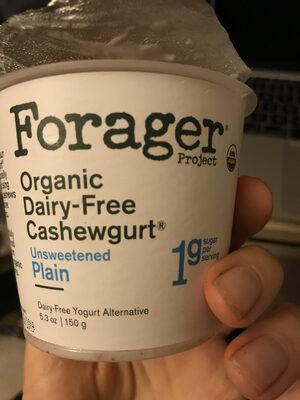 Organic dairy-free cashewgurt - Product