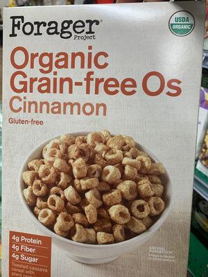 Forager cinnamon grain free os - Ingredients - en
