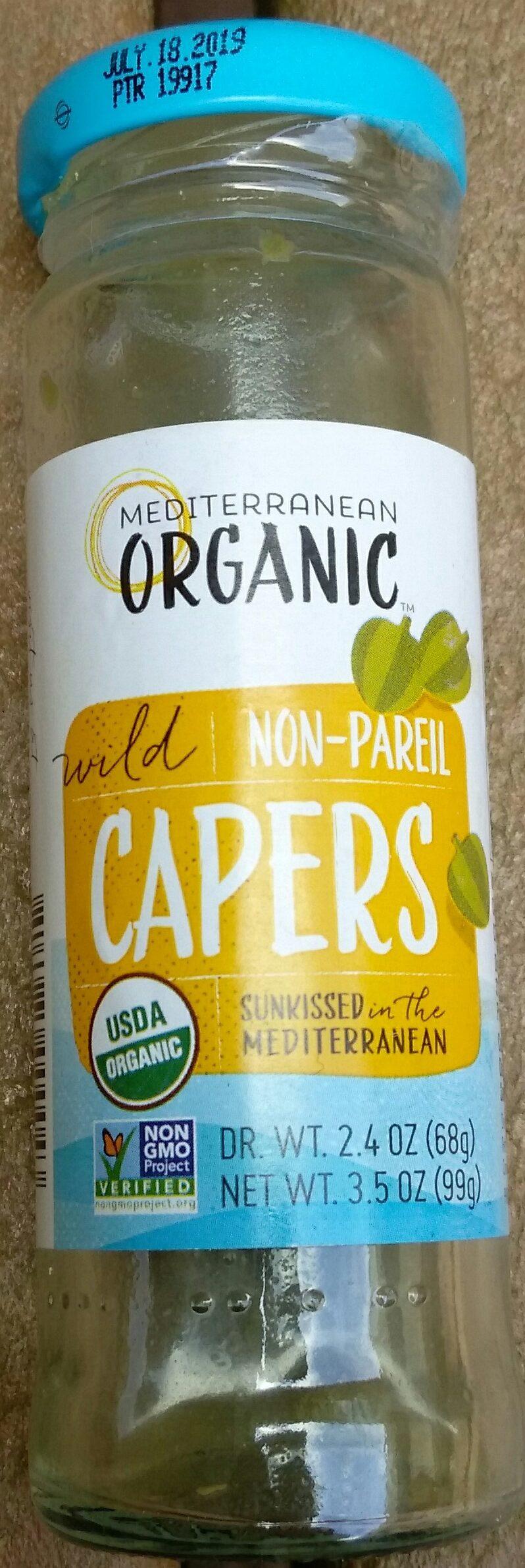 Wild Non-Pareil Capers - Product