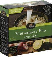 Vietnamese Pho Soup Bowl, Delicious Rice Noodle Soup Bowl - Prodotto - en