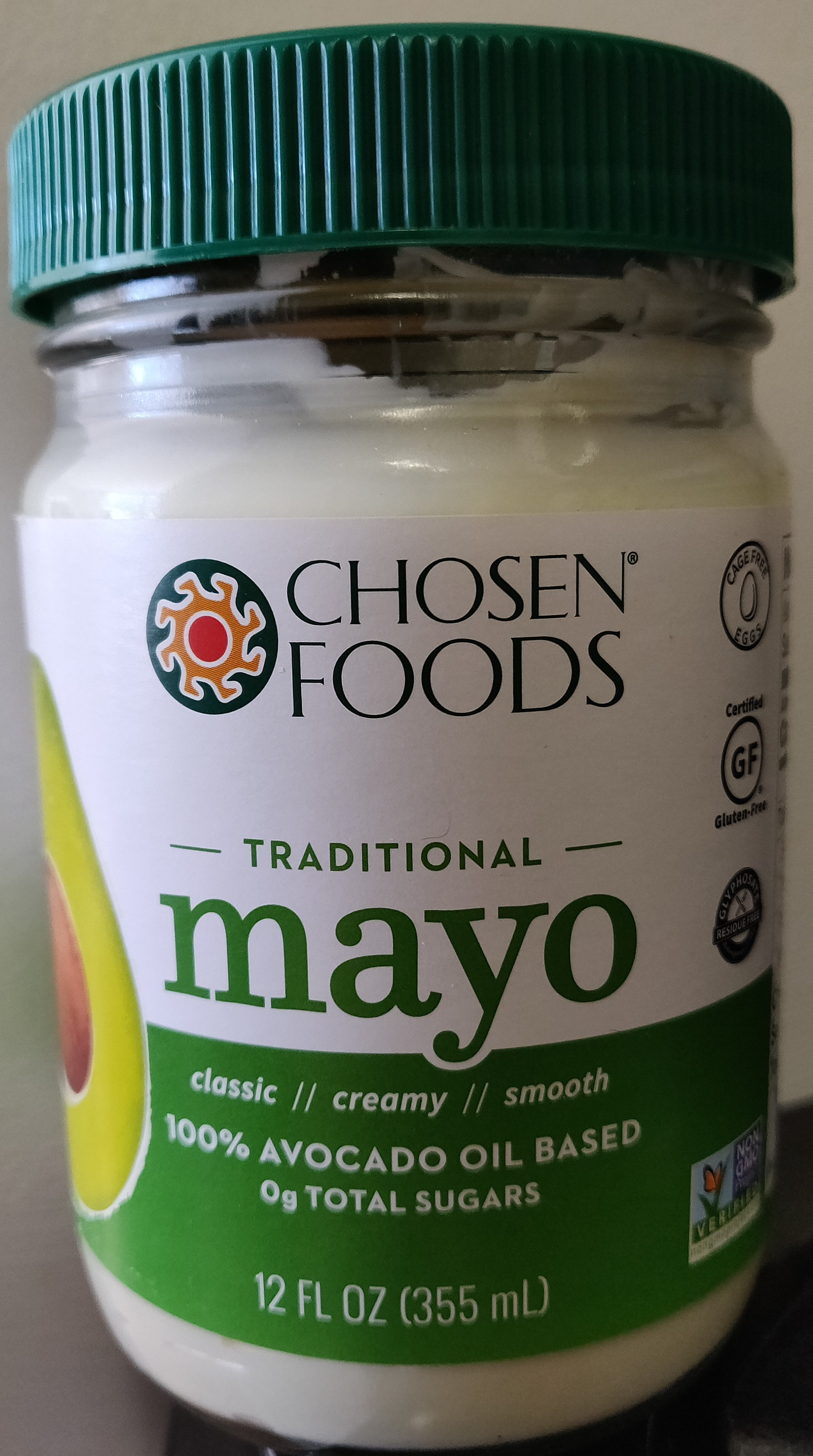 Chosen Foods, Avocado Oil Mayo - Product