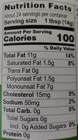 Chosen Foods, Avocado Oil Mayo - Nutrition facts