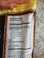 Sal de mar totopos - Información nutricional - es