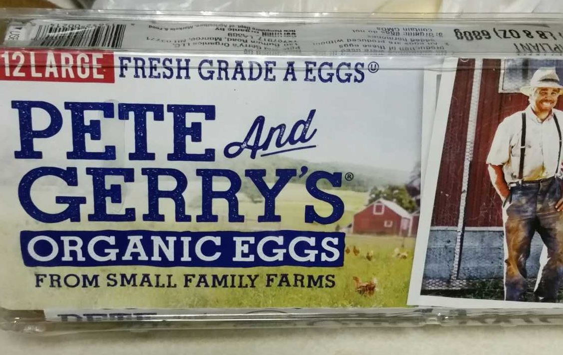 Pete and Gerry's Organic Eggs Grade Aa Large - 12 CT - Product