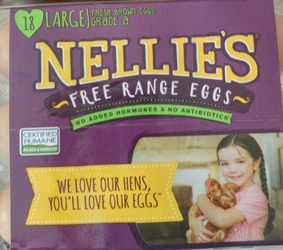 Fresh large brown eggs - Product - en