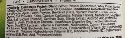 IdealShake Vanilla Superfood Blend - Ingredients - en