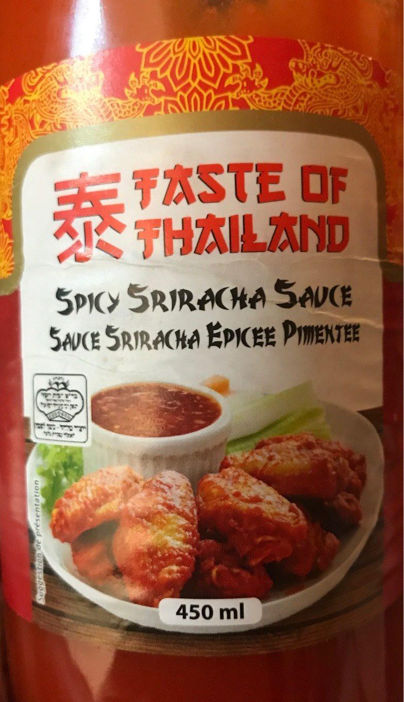 Spicy Sriracha Sauce - Product - fr