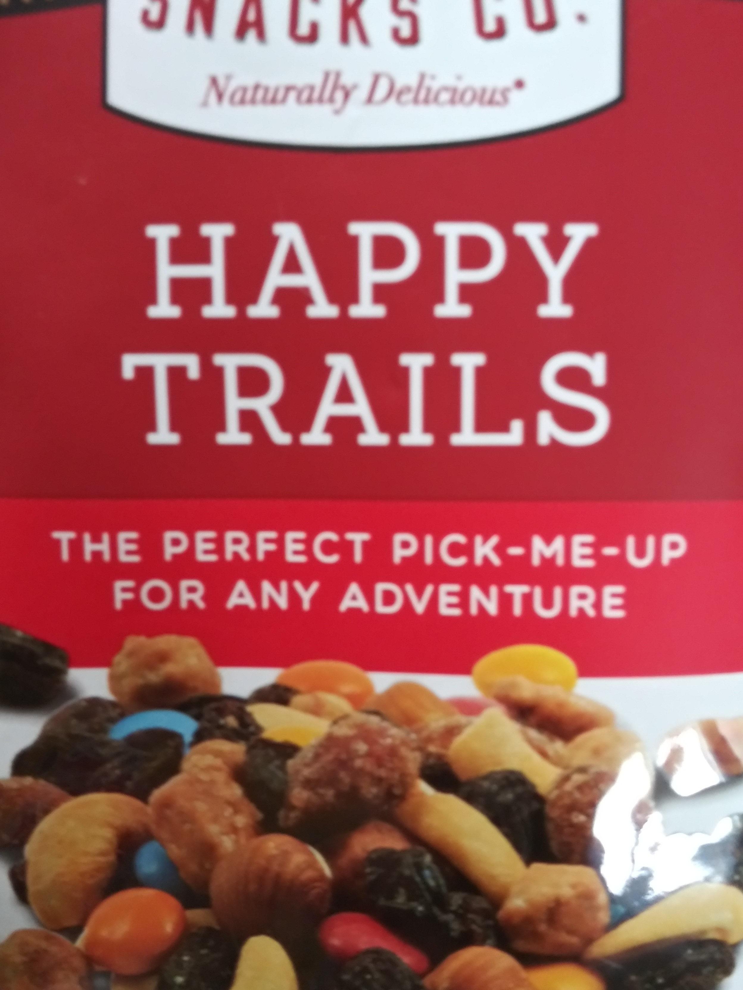 creative snacks happy trails - Product