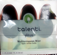 Gelato Pop Mediterranean Mint dipped in rich dark chovcolate - Product - en