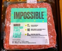 Impossible Burger - Produit - fr