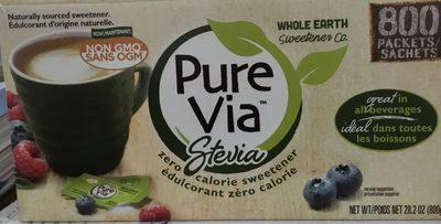 Édulcorant zéro calories - Stevia - Produit - en