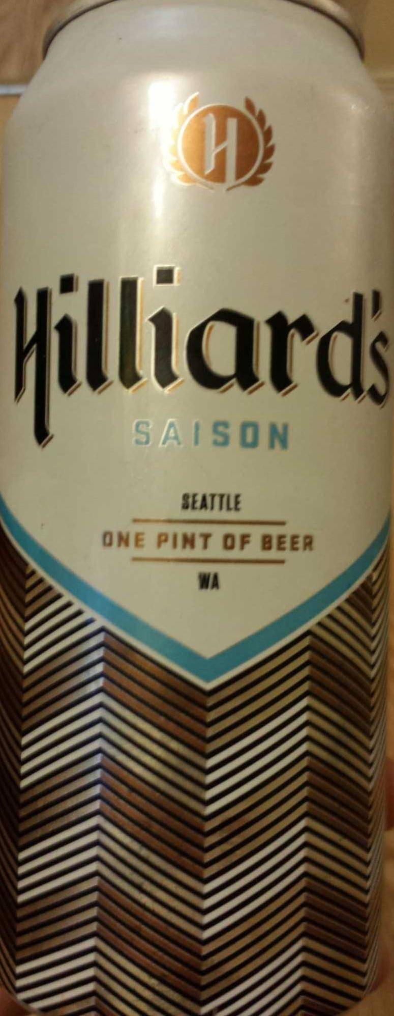 Hilliard's saison - Product
