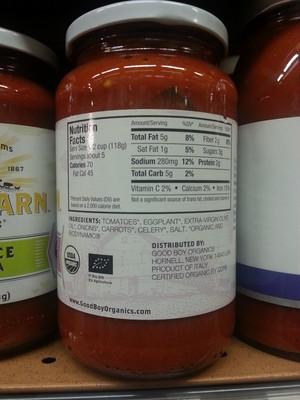 Roasted Eggplant Pasta Sauce - 2