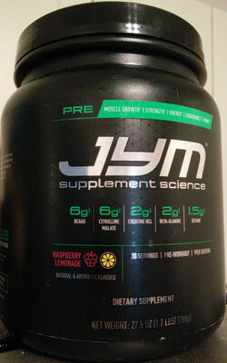 Jym Pre - Product - en