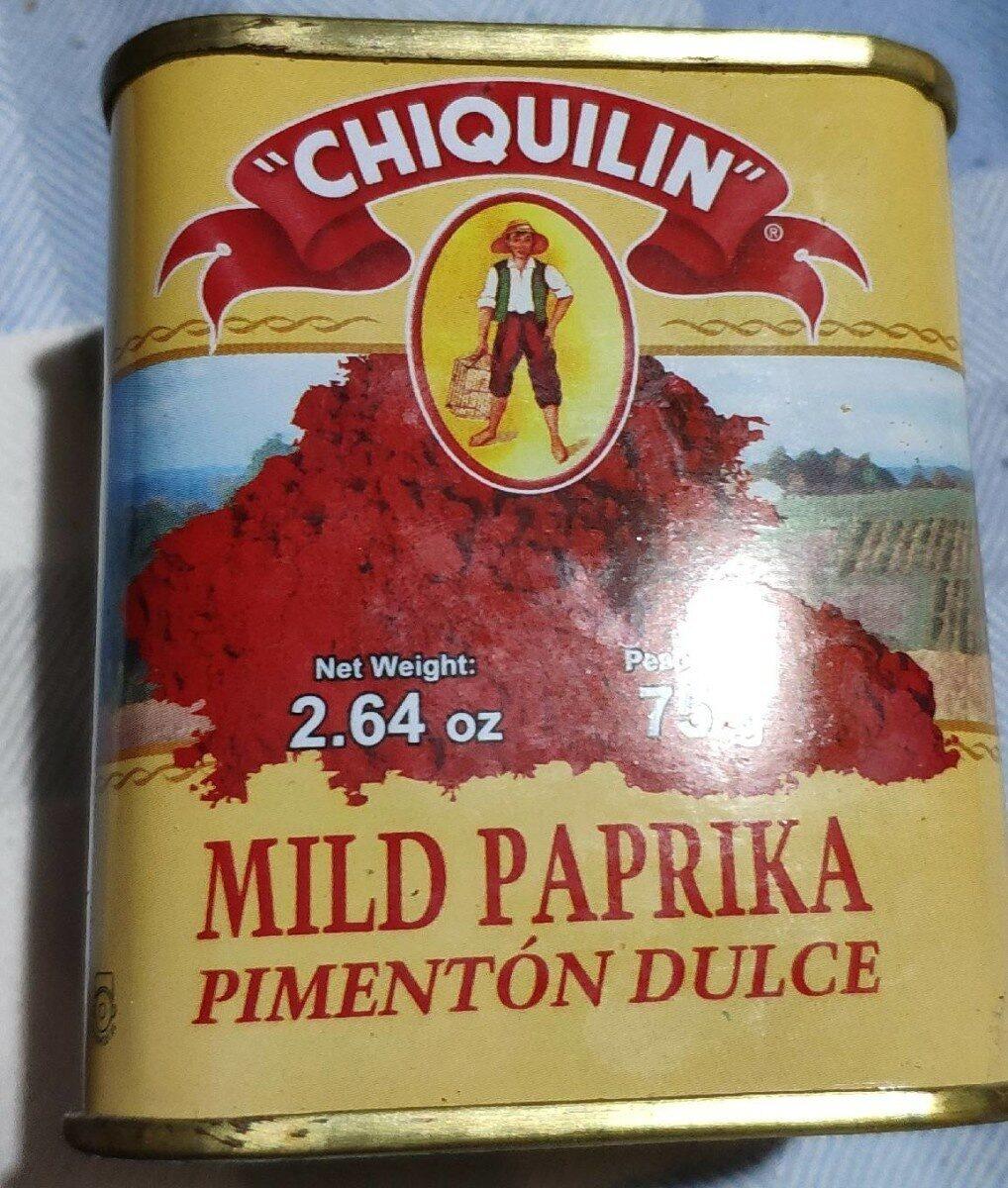 Pimentón Dulce - Product