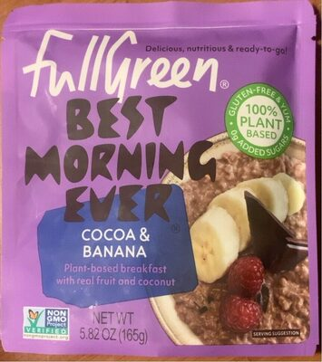 Best Morning Ever - Banana Cocoa - Product - en