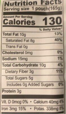 Best Morning Ever - Banana Cocoa - Nutrition facts - en