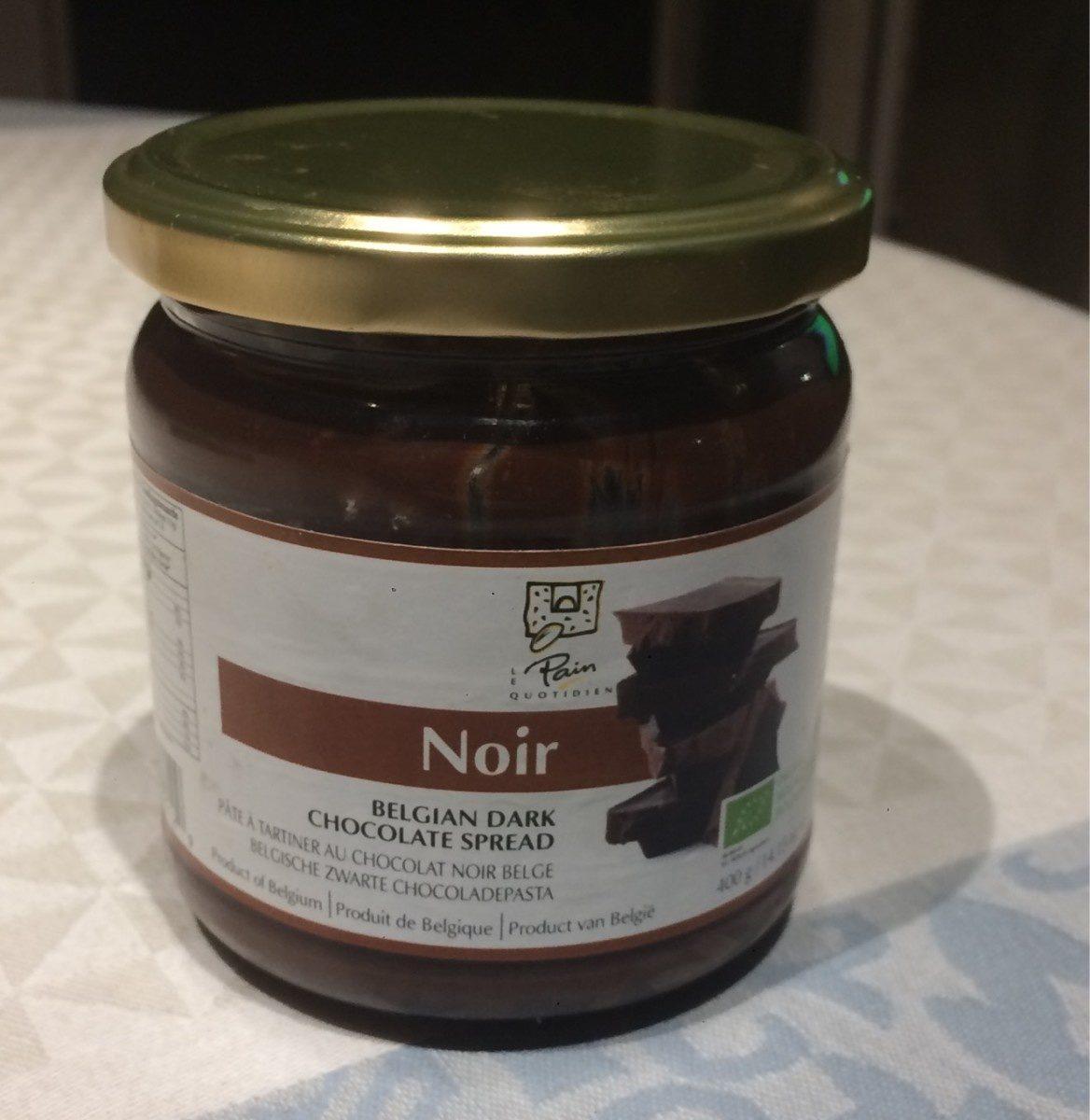 Pâte à Tartiner au Chocolat Noir Belge - Product - fr