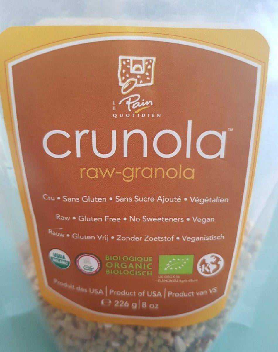 Crunola / Raw-Granola - Product - fr