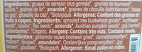 Crunola / Raw-Granola - Ingrédients - fr