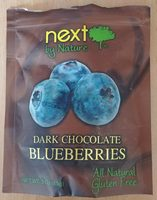 Blueberries dark chocolate - Product - en