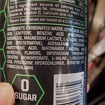 ROCKSTAR - Ingredients