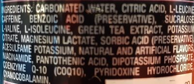 x thermo - Ingredients