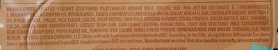 Chobani Flip mint chocolate chip - Ingredients