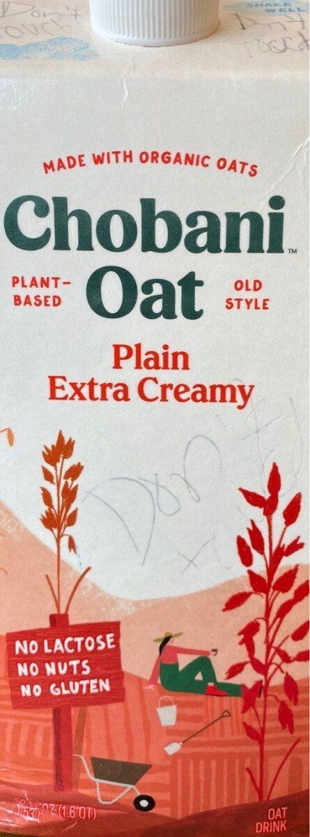 Oat plain extra cream - Product - en