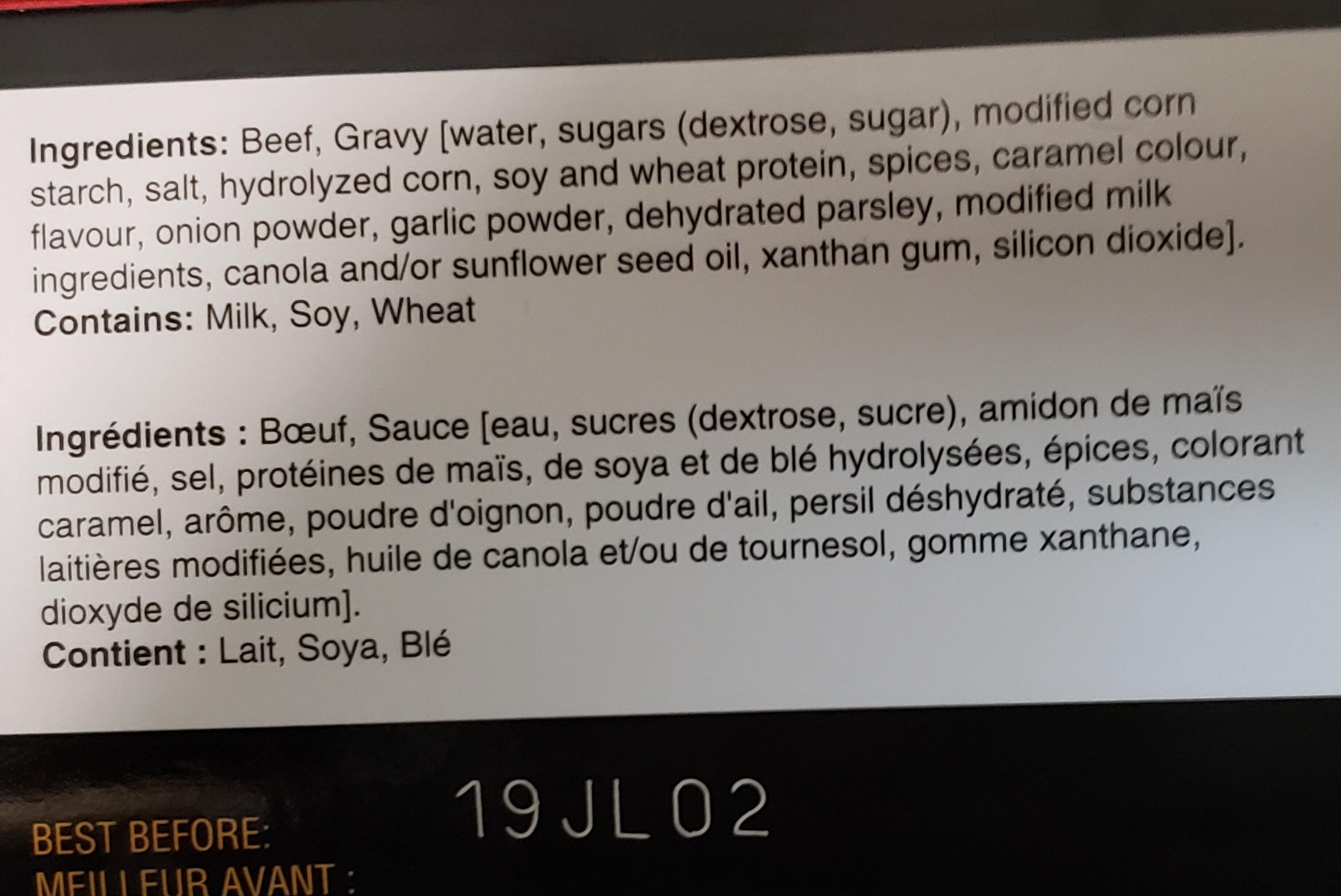 Rôti de bœuf braisé - Ingredients