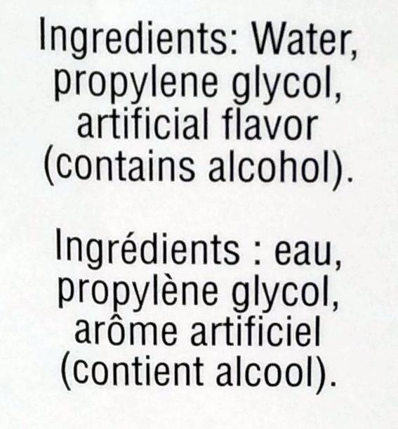 Imitation Butter Extract - Ingredients - en