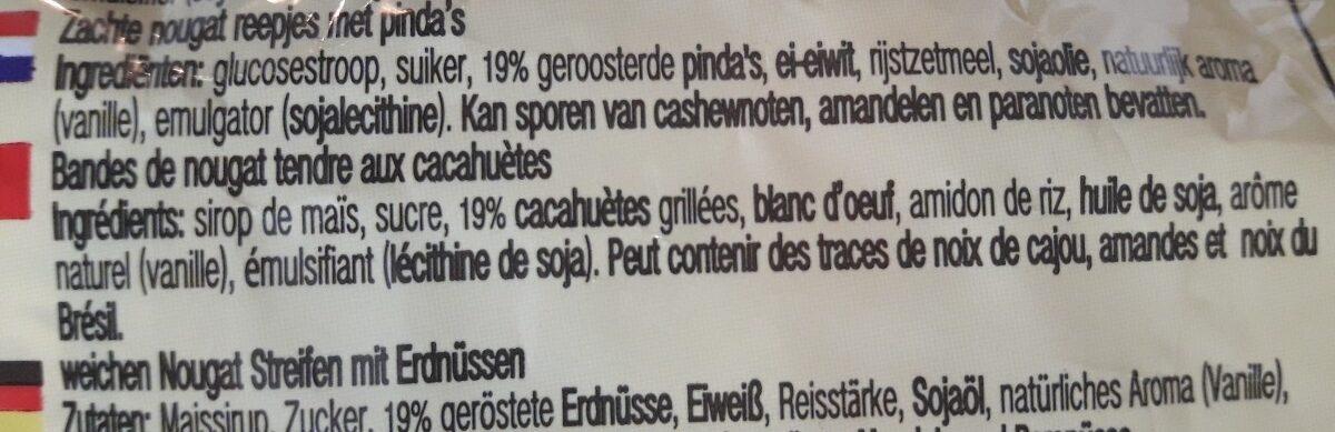 Nougat Bar - Ingrediënten