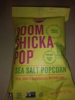 Boom Chicka Pop Sea Salt Popcorn - Prodotto - en