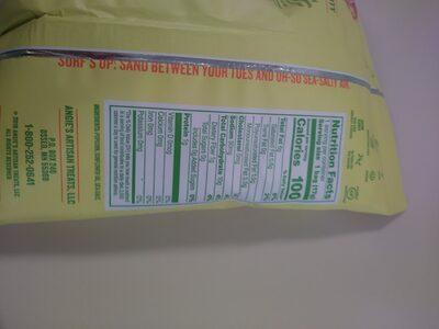 Boom Chicka Pop Sea Salt Popcorn - Valori nutrizionali - en