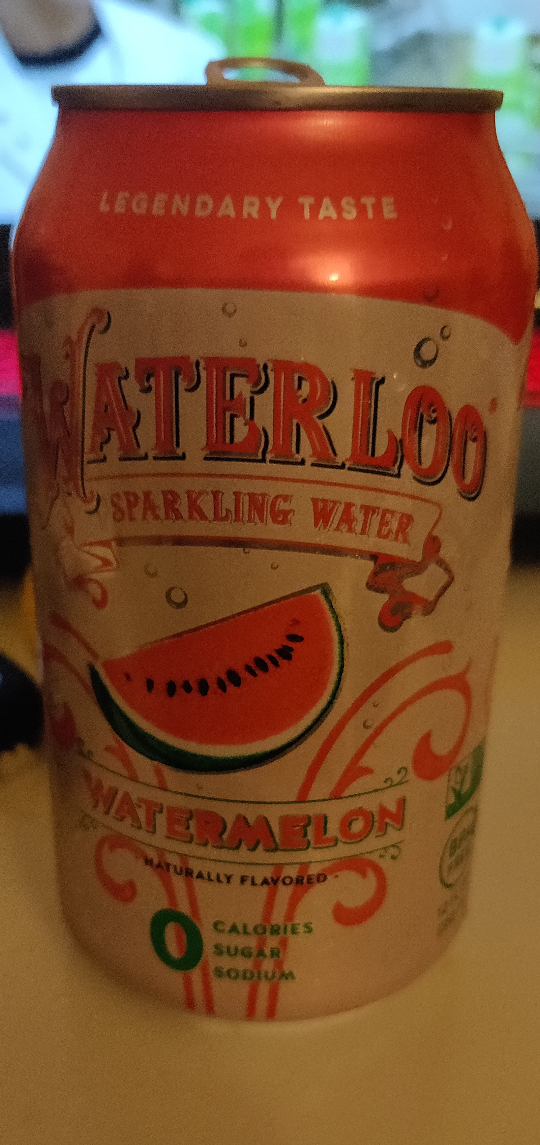 Waterloo Sparkling Water Watermelon - Product