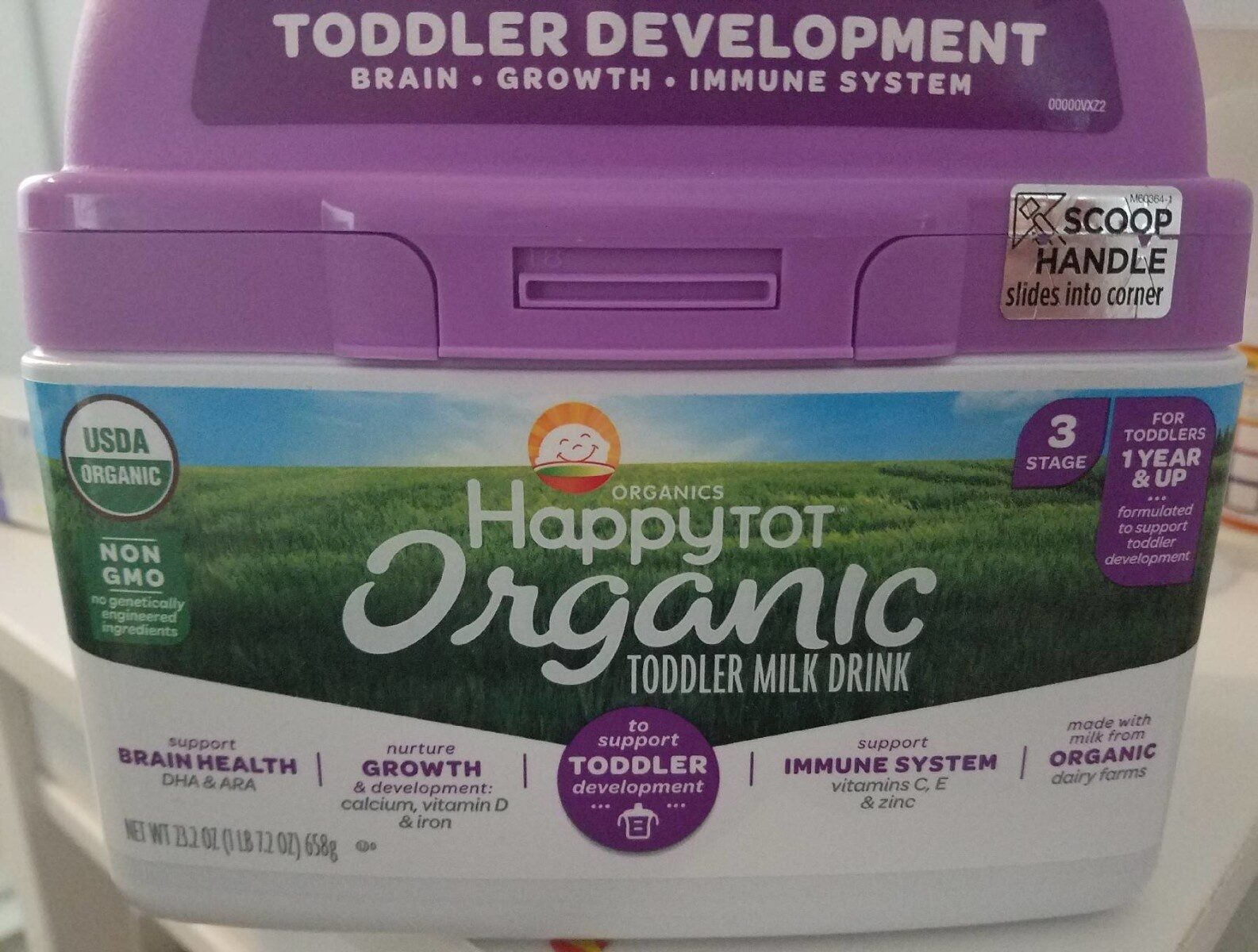 Happytot organic toddler milk drink - Product - en