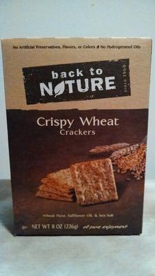 Crispy Wheat Crackers - Product