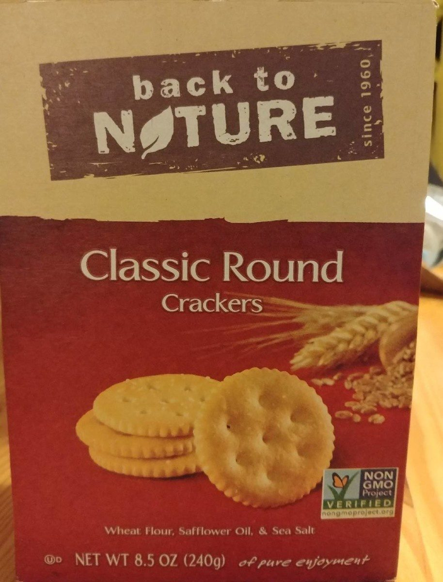 Classic round crackers - Product