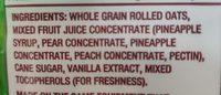 Classic Granola Gluten Free - Ingredients