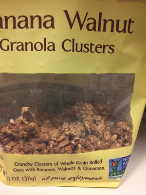 Banana Walnut Granola clusters - Product