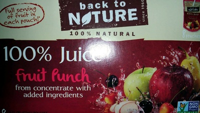 100% Juice Fruit Punch - Product