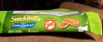 Vanilla creme sandwich cookies - Product