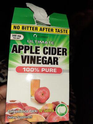 ultimate  apple cider vinegar  100 % pure - 2