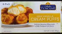 Dolce tuscano, cream puffs, mini vanilla - Product - en