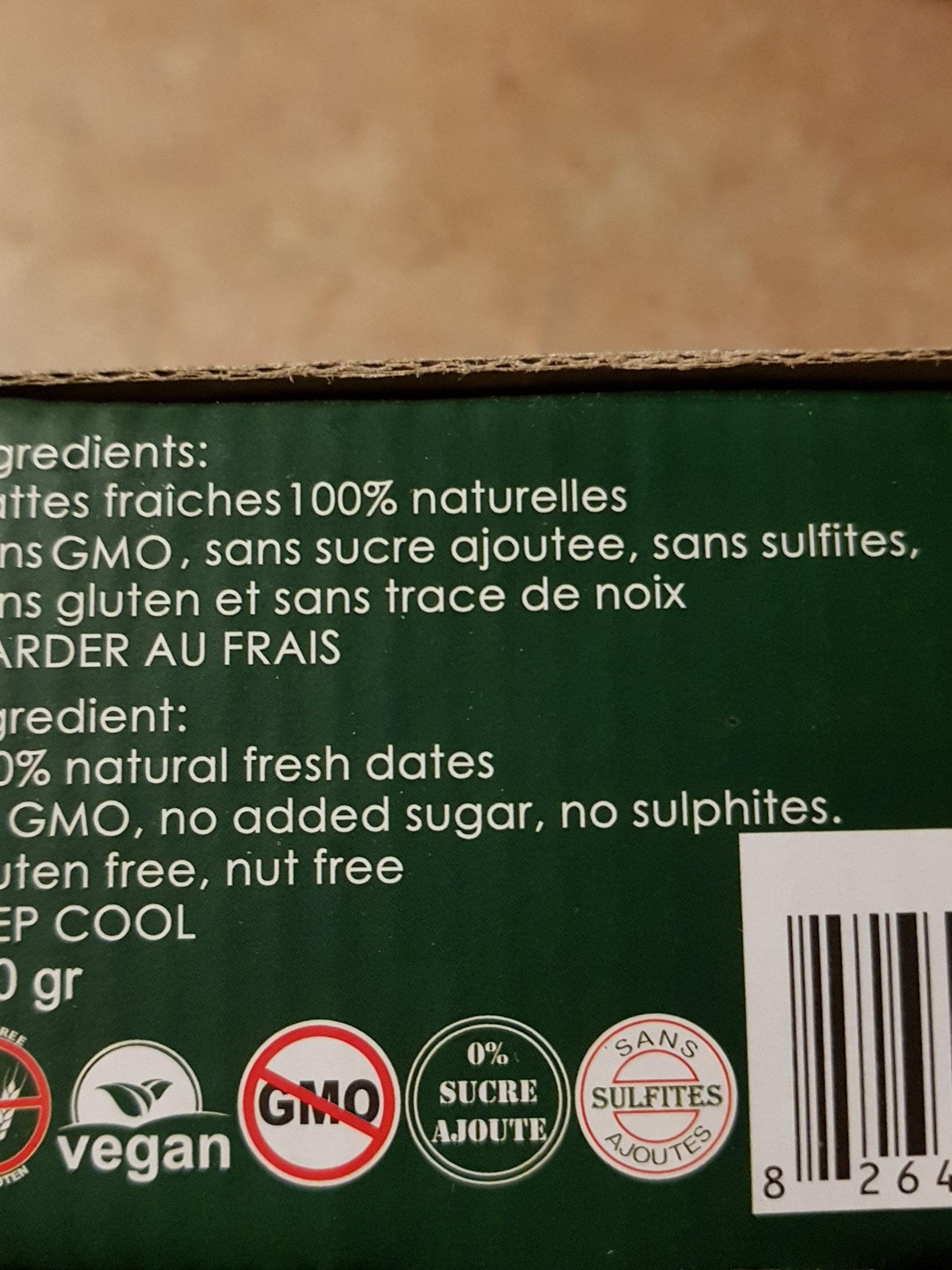 habibi date - Ingrediënten