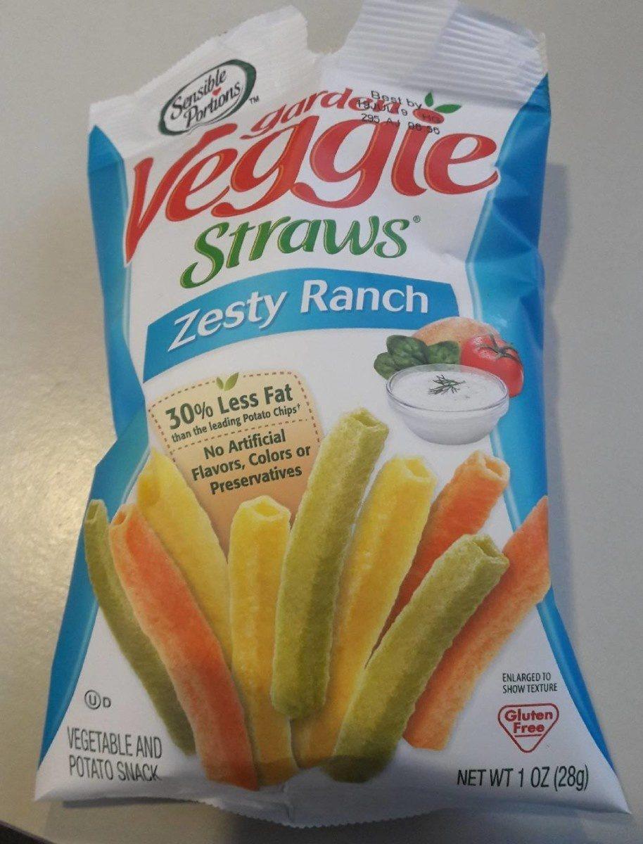 Garden Veggie Straws Zesty Ranch - Product - en