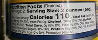 Wild albacore tuna - Nutrition facts